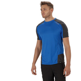 Regatta Hyper-Reflective T-Shirt Men Oxford Blue/Seal Grey Reflective